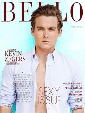 Bello Magazine, Kevin Zegers, MUST LINK BACK