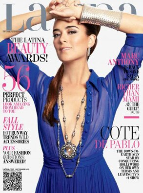Cote de Pablo, Latina Magazine
