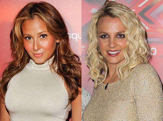 Adrienne Bailon, Britney Spears