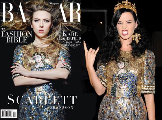 Scarlett Johansson, Harper's Bazaar Australia, Katy Perry
