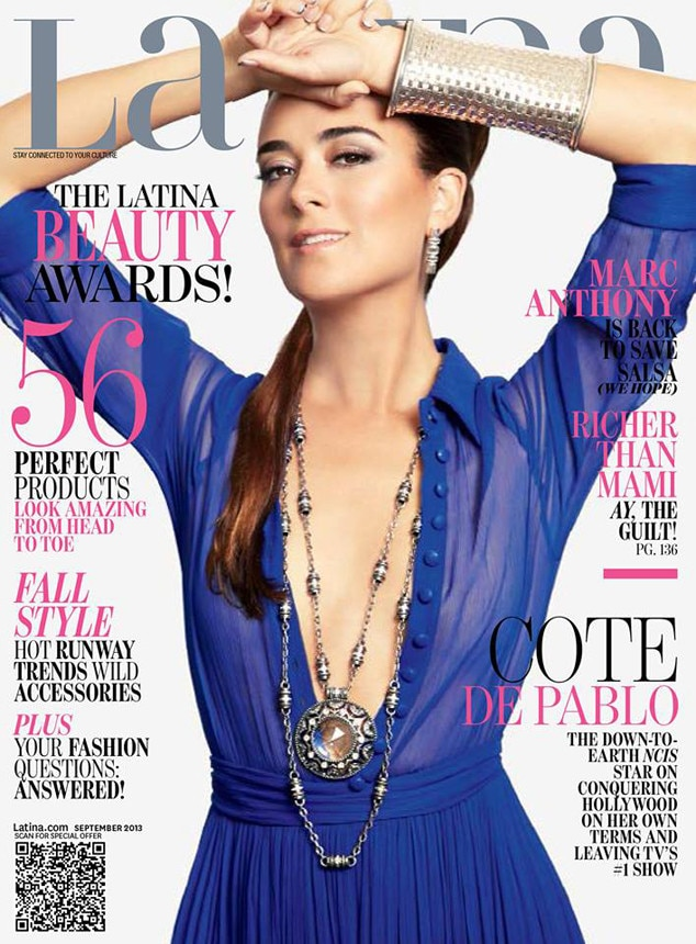 Cote De Pablo, Latina From 2013 September Issues