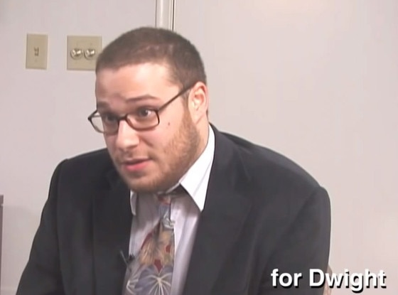 Seth Rogen, The Office Audition