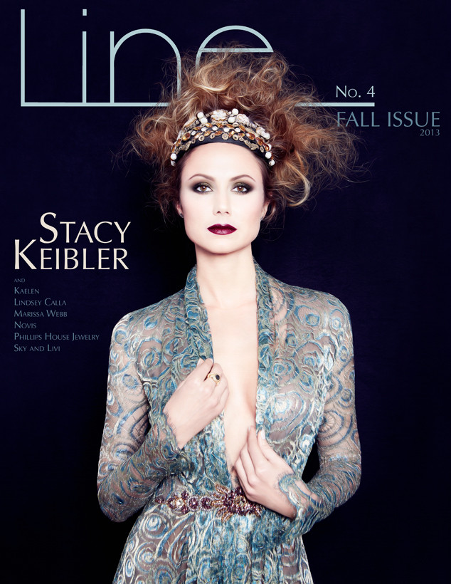 Stacy Keibler, Line Magazine