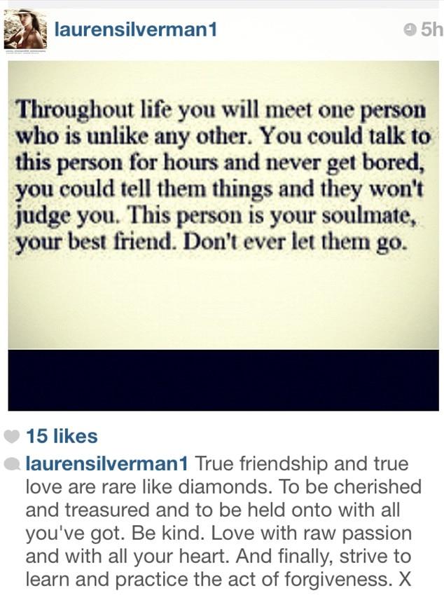 Lauren Silverman, Instagram
