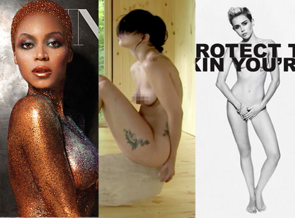 Beyonce, Lady Gaga, Miley Cyrus