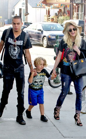 Evan Ross, Bronx, Ashlee Simpson