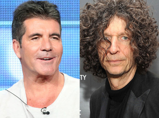 Simon Cowell, Howard Stern
