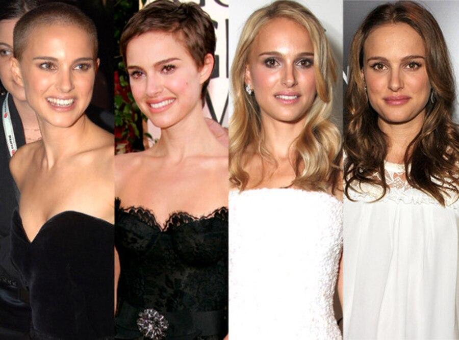 Natalie Portman, Celeb Hair Transformations