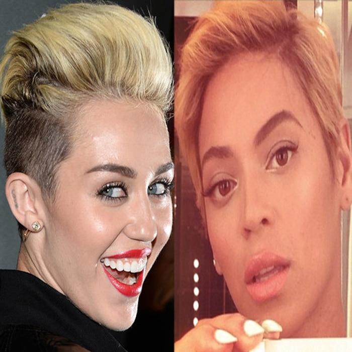 Miley Cyrus, Beyonce