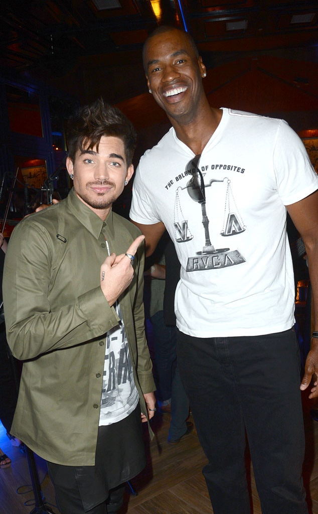 Adam Lambert, Jason Collins