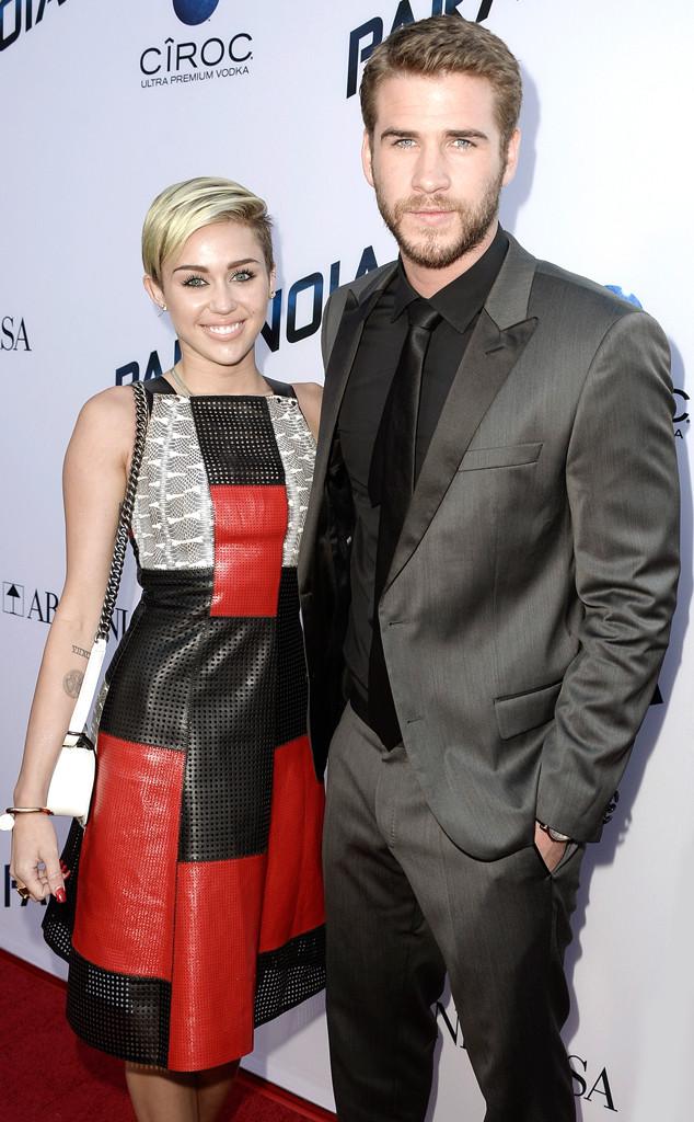 Miley Cyrus, Liam Hemsworth, Engaged