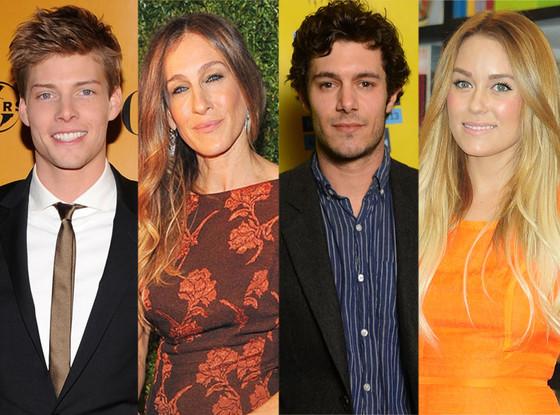 Hunter Parrish, Sarah Jessica Parker, Adam Brody, Lauren Conrad