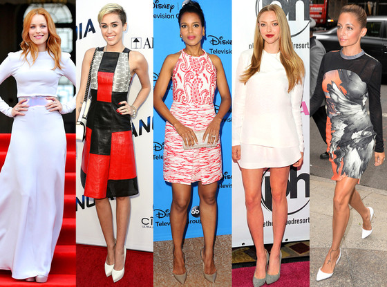 Best Looks, Rachel McAdams, Miley Cyrus, Kerry Washington, Amanda Seyfried, Nicole Richie