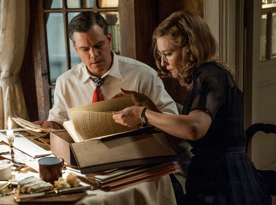 Matt Damon, Cate Blanchett, The Monuments Men