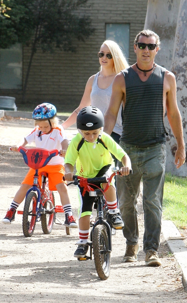 Gavin Rossdale, Soraya, Kingston, Zuma