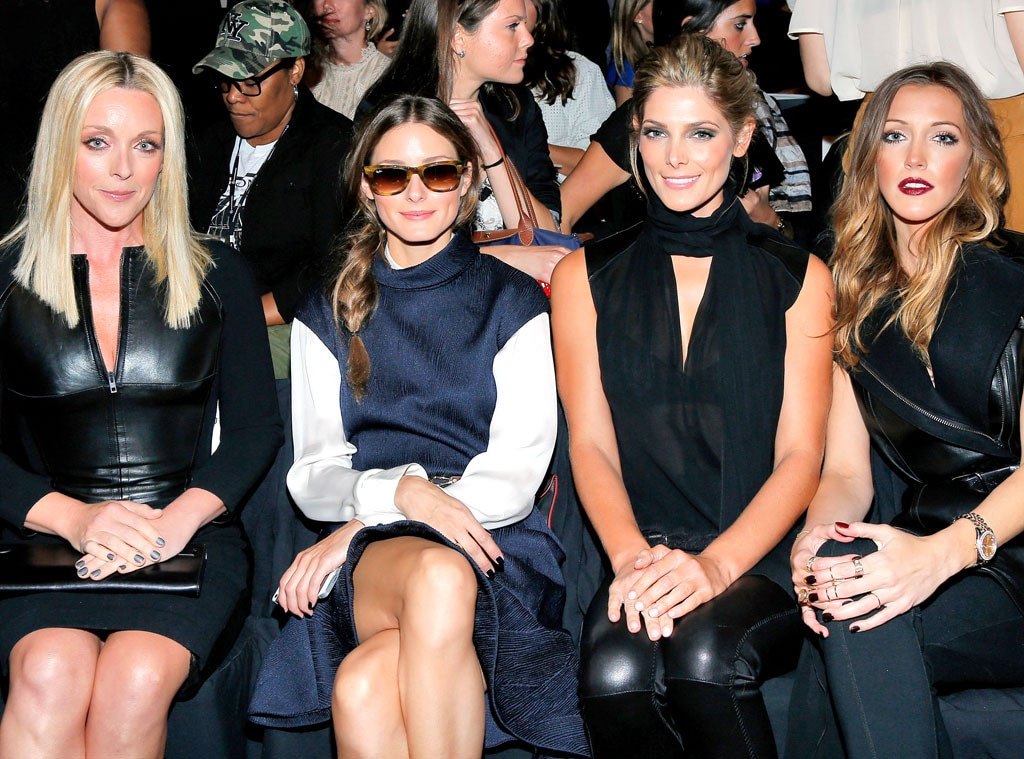 Jane Krakowski, Olivia Palermo, Ashley Greene, Katie Cassidy, NYFW, New York Fashion Week