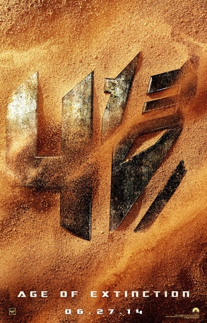Transformers 4: Age of Extinction, Poster