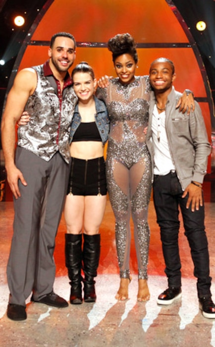 Aaron Turner, Amy Yakima, Jasmine Harper, Fik-Shun, So You Think you Can Dance