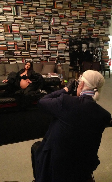 Kim Kardashian, Karl Lagerfeld