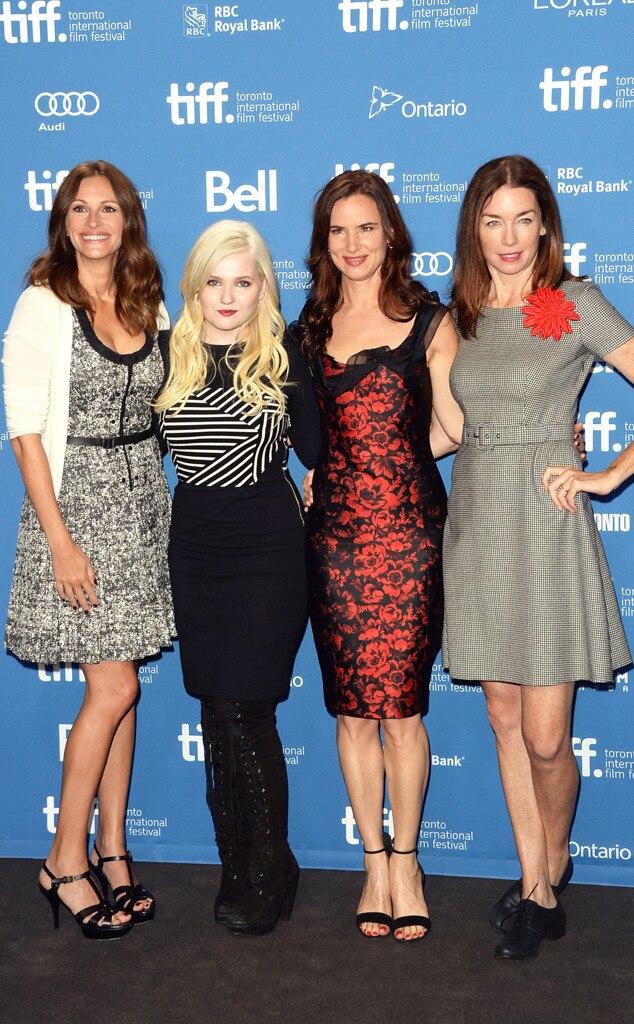 Julia Roberts, Abigail Breslin, Juliette Lewis, Julianne Nicholson