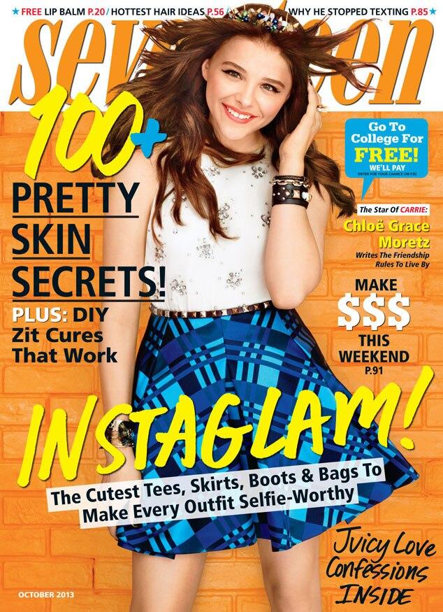 Chloe Grace Moretz, Seventeen Magazine