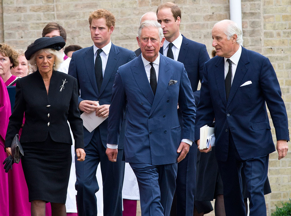 Camilla, Prince Harry, Prince Charles, Prince William