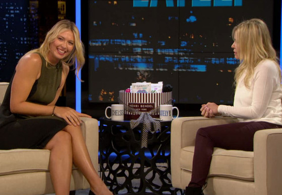 Maria Sharapova, Chelsea Lately