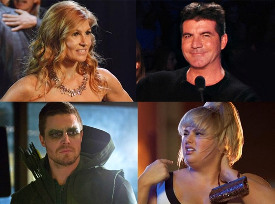 Simon Cowell, X Factor, Rebel Wilson, Super Fun Night, Stephen Amell, Arrow, Connie Britton, Nashville