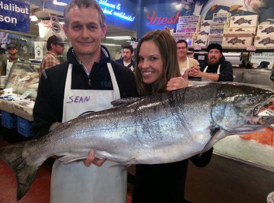 Hilary Swank, Pure Food Food Market