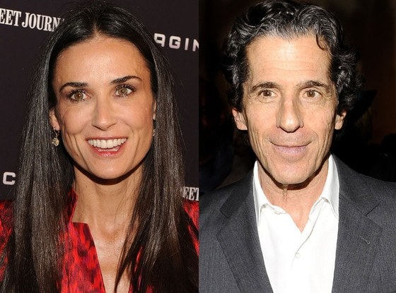 Demi Moore, Peter Morton