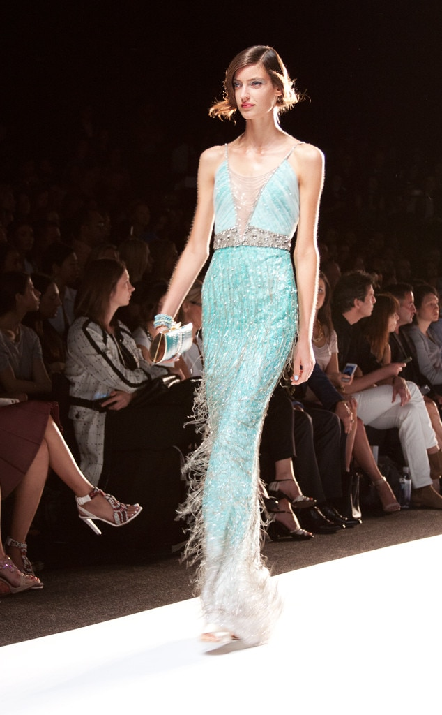 Badgley Mischka, New York Fashion Week