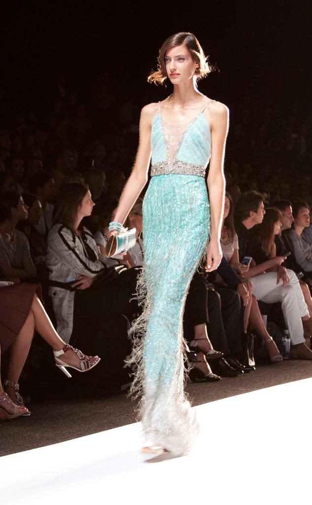 Badgley Mischka, New York Fashion Week