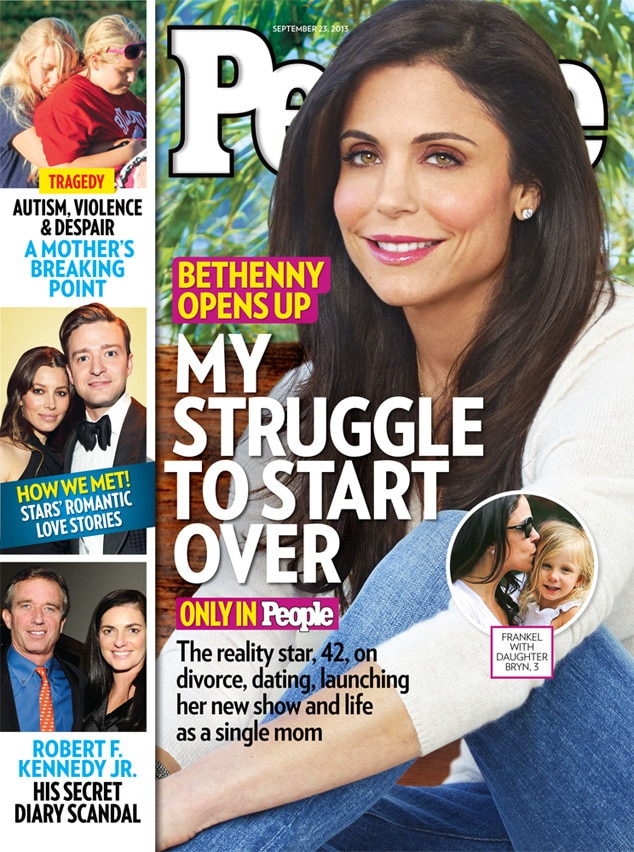 Bethenny Frankel, People Magazine Cover