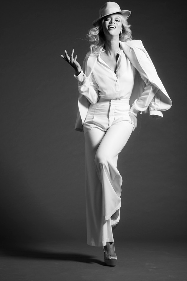 Tyra Banks, 15, Supermodel Tribute