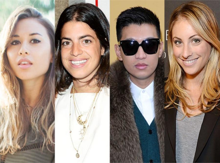 Emily Schuman, Rumi Neely, Leandra Medine, Bryan Boy
