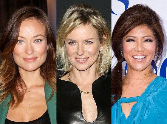 Olivia Wilde, Naomi Watts, Julie Chen