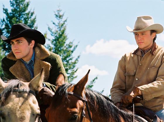 Jake Gyllenhaal, Heath Ledger, Brokeback Mountain