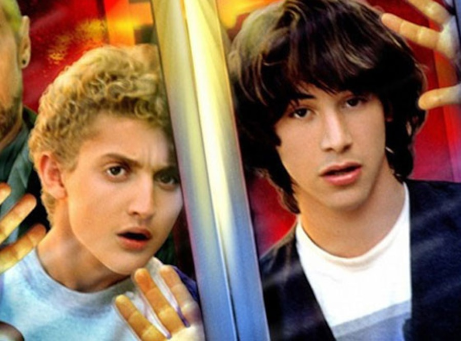 Bill & Ted's Excellent Adventure, Keanu Reeves, Alex Winter
