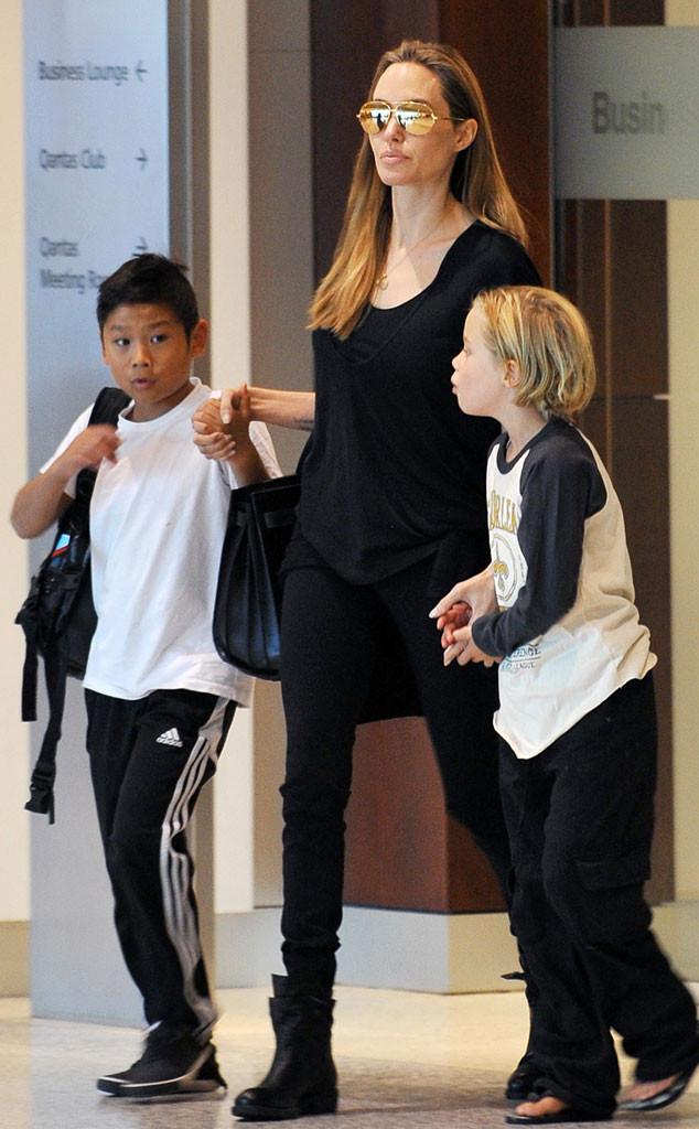 Angelina Jolie, Pax, Shiloh