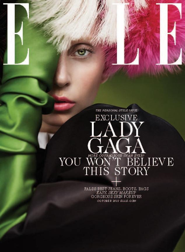 Lady Gaga, ELLE