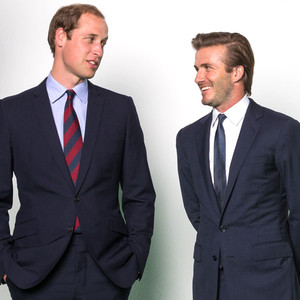 Duke of Cambridge, Prince William, David Beckham, Yao Ming, PSA Rhinos and Elephants