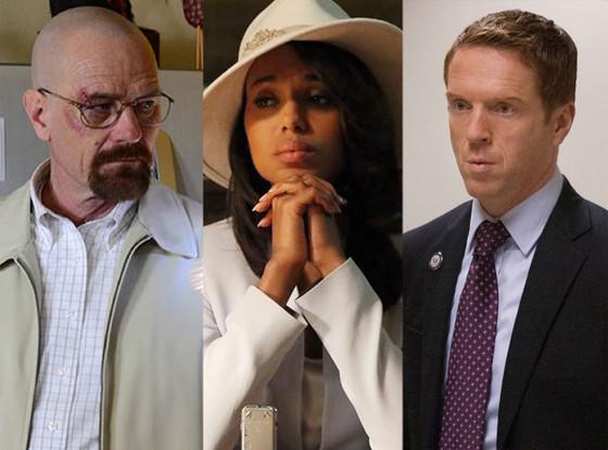 Emmys, Breaking Bad, Scandal, Homeland
