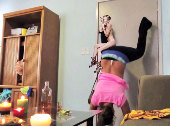 Miley Cyrus, Wrecking Ball Meme, Twerking Girl Fail
