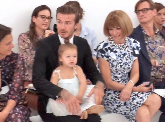 Anna Wintour, David Beckham, Harper