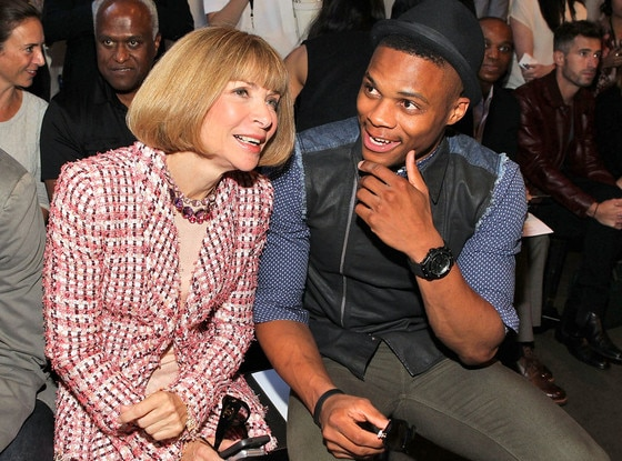Anna Wintour, Russell Westbrook