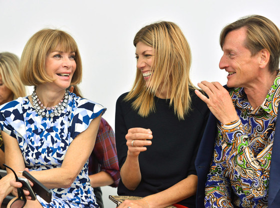 Anna Wintour, Virginia Smith, Hammish Bowles