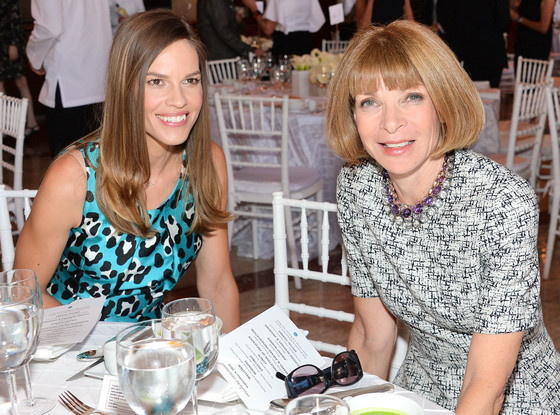 Hilary Swank, Anna Wintour
