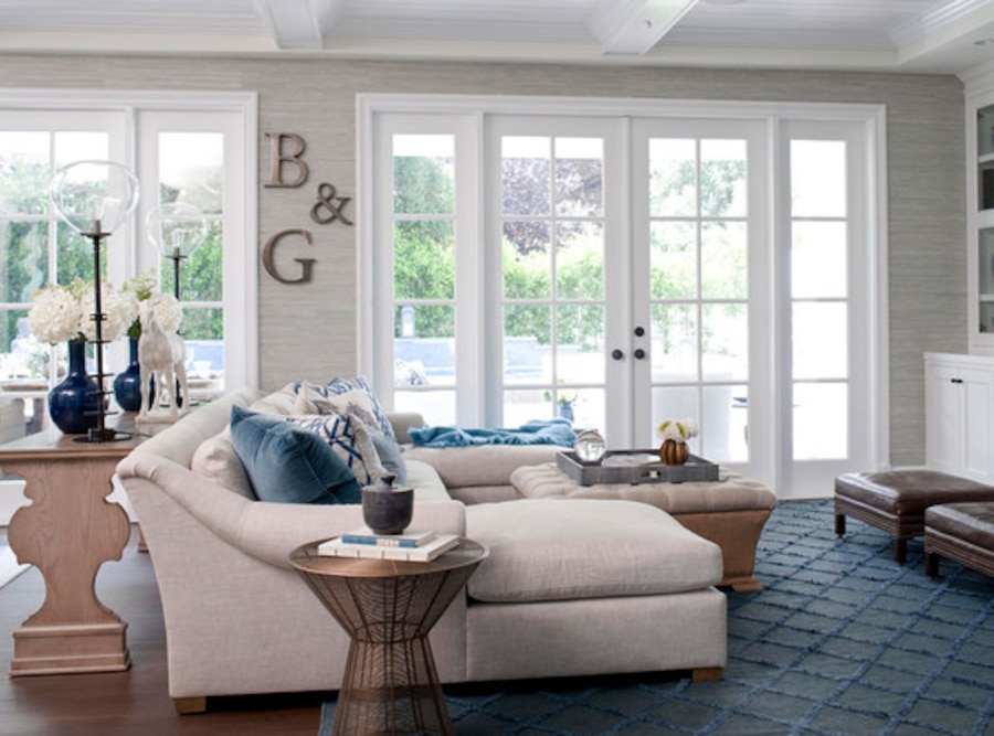 Giuliania Rancic Traditional Home