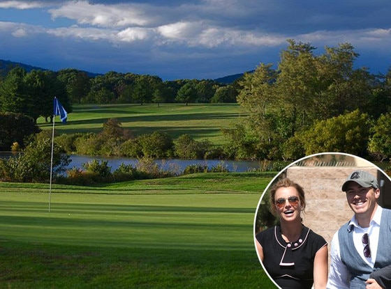 Britney Spears, David Lucado, Ivy Hills Golf Course