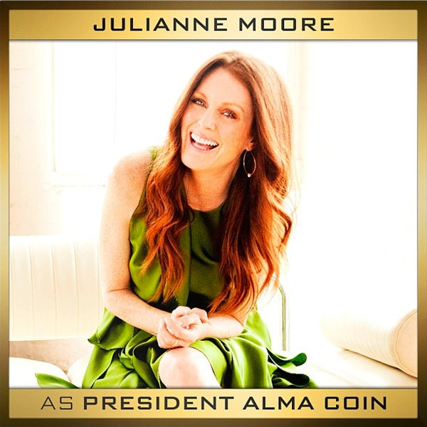 Julianne Moore, Hunger Games, Instagram, Alma Coin